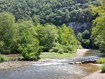 The clear water and beauty of the Buffalo National River.