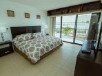 Master suite 1 with King Size