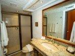 Complete bath Bedroom 2