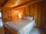 Queen Log Bedroom