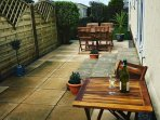 Patio Area - A little sun  trap