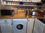 Close-up of appliances