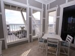 Screened Porch Gulf Views