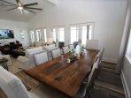 Dining Table Seats Ten