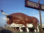 The FAMOUS Angelo's Steak Pit - about a mile away.