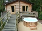 Optional Extra Private hot Tub- please ask for availability & price
