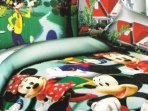 Bedrooms can be provided with various themes from our selection of children's bed sets & cushions
