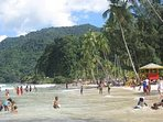 About 90 minutes from Arima is the most popular beach on the island,  Maracas Bay.