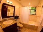 Secon Bathroom with bathtub