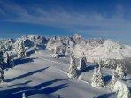 Le Dolomiti in Inverno