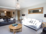 The large lounge/dining area is ideal for entertaining or for families and friends to get together