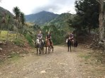 Incredible hiking and horseback riding with Baru Valley Tours