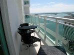 Balcony furniture included. An Amazing place to relax!