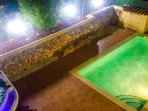 Garden Lighting, Creates The Ultimate Night Time Ambience At Casa Espins