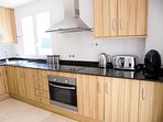The Exceptional Kitchen With Solid Granite Worktops, Marble Floors & Designer Appliances