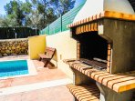A Traditional Mallorcan Barbecue, Perfect For Casual Al Fresco Dining By The Pool