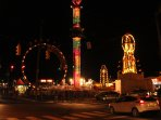 Enjoy the exciting local fair in downtown CB... 2 minute walk