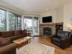 Fireplace & Open