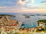 The beautiful bay of Hvar