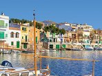 The Picturesque Local Village Of Porto Cristo. A Fantastic Day Easily Reached By Car Or Boat!