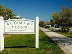 Rosemary Beach 1 mile from condo.