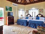 Rooms are tastefully decorated with crisp white linens, beach accents& plentiful amenities