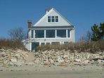 Direct Oceanfront 4BR/3BA with Sweeping View of Cape Cod Bay & Sunsets on Marsh