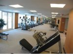Access to the gym included