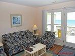 Living Room w/ Queen Sleeper Sofa