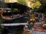 River side restaurants in Saklikent, 15 minutes drive away