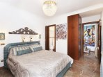 Double bed room (n. 2) with ensuite bath room and french balcony