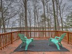NEW! 4BR Lakefront Hawley House w/ Private Dock!