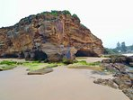 Nearby famous Caves Beach