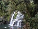 Take a tour to the beautiful  Nauyaca Waterfalls.