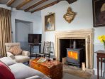 Light the log burner and relax...