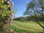 Beautiful views across the fairways of Vigiers golf course