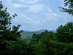 View of Trackrock Valley from Alpine Cabins