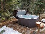 Rio Vista Log Cabin Retreat  - Private hot tub