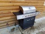 Rio Vista Log Cabin Retreat  - BBQ