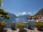 Magnificent lake views