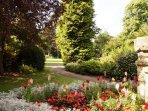 Rylstone Gardens, 3 mins walk