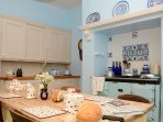 Traditional Country House Kitchen featuring a mix of original features and modern equipment.