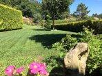 Jardín zona casa