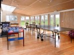 Our Newly constructed detached Games/Function Room in the Garden