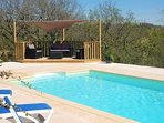 A beautiful two bedroom French house set in its own grounds with private pool.