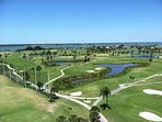 Cocoa Beach Country club...3 nine hole golf courses,  public tennis courts, public Olympic size pool