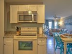 Easily entertain from the open kitchen.