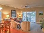 This cozy condo offers accommodations for up to 6.
