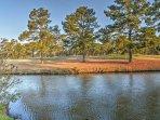 This condo overlooks Myrtlewood's Pine Hills Golf Course.