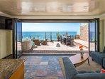 Panoramic door in Living Room